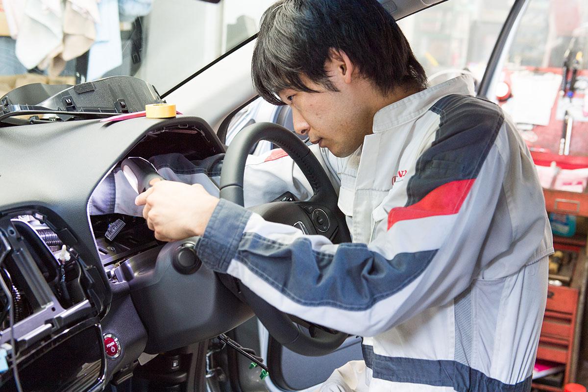 Hondaのプロフェッショナル